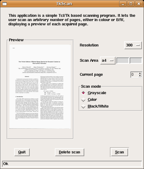 Creating multi-page PDF documents from scanned images in Linux